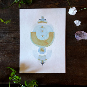 Quiet Light Oracle Card -  Hold Space