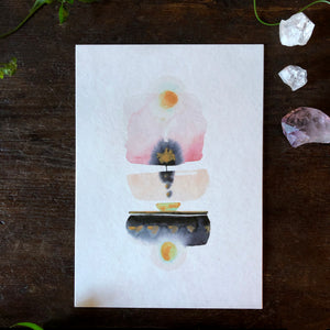 Quiet Light Oracle Card -  Balance