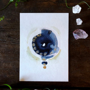 Quiet Light Oracle Card - Contemplation