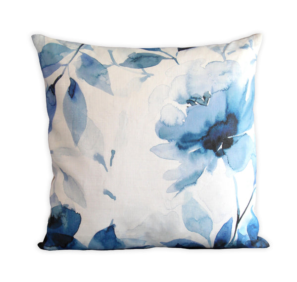 Healing Hearts Floral Pillow