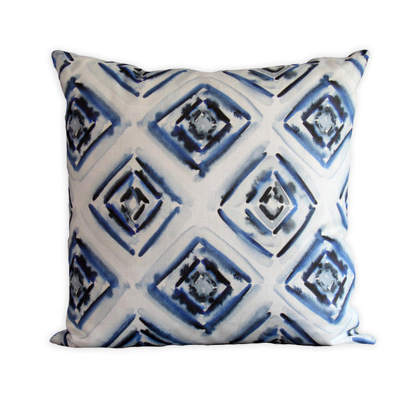 Diamond Geometric Pillow