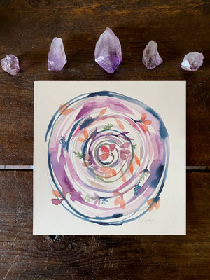 Sacred Circle - Fall Equinox Original Art