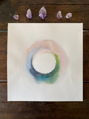 Sacred Circle - Portal Original Art