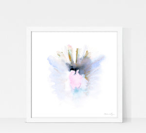 Quiet Light Oracle Print - Sacred Heart