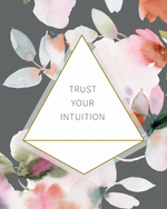 Trust your Intuition - Soul Messages Print