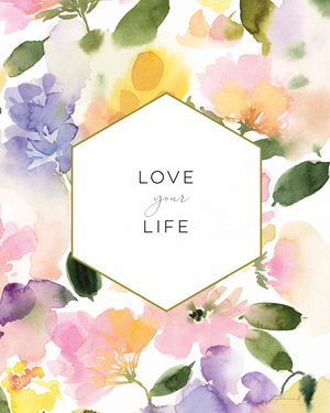 Love your Life - Soul Messages Print