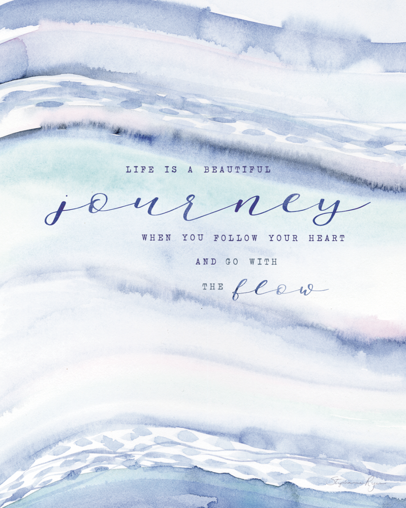 Life is a Beautiful Journey - Soul Messages Print