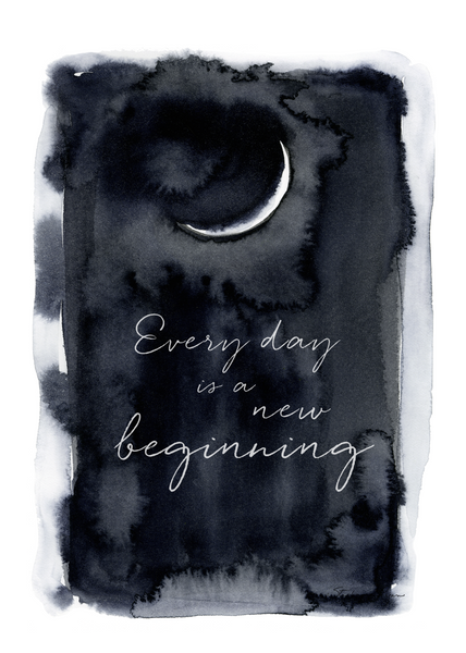 Every Day is a New Beginning - Soul Messages Print