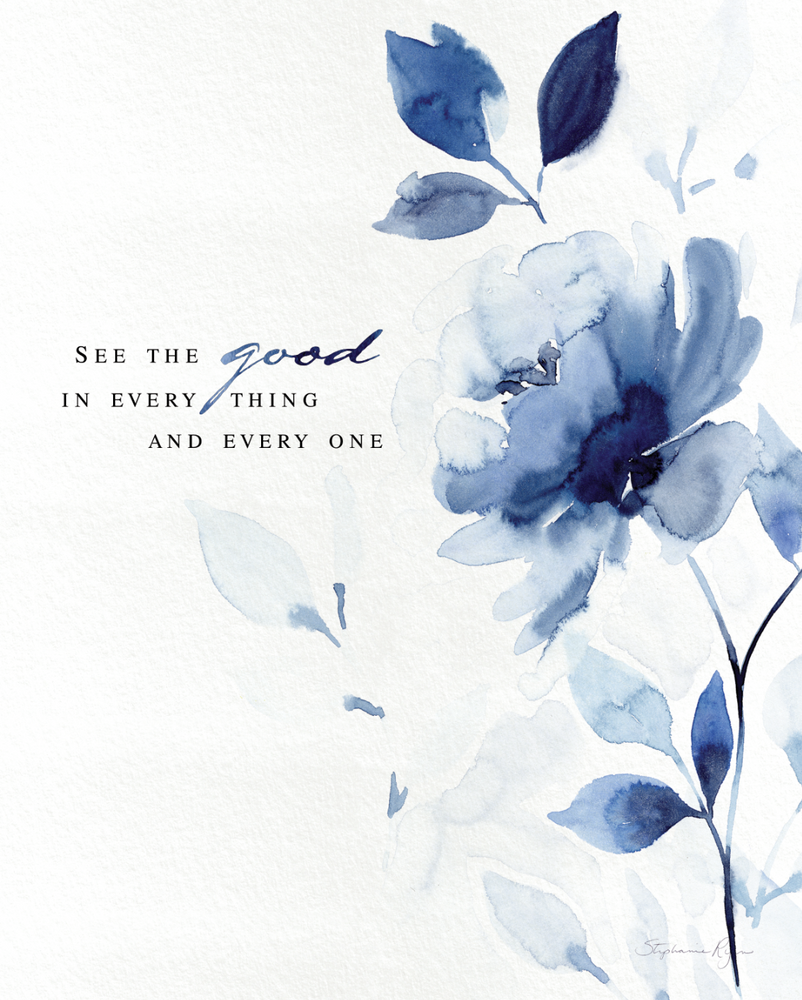 See the Good - Soul Messages Print