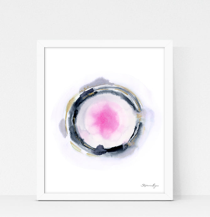 Quiet Light Oracle Print - Tranquility