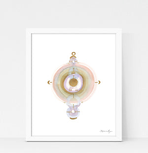 Quiet Light Oracle Print - Trust Divine Guidance