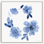 Blue Wreath Fine Art Print