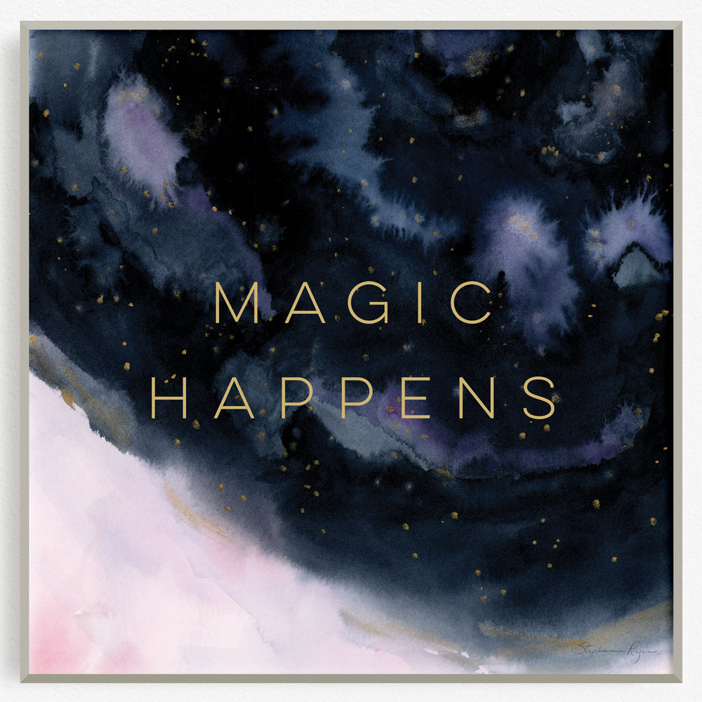 Magic Happens -  Soul Messages Print