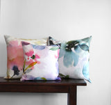 Ethereal Floral Pillow