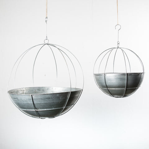 Hanging Planter Orb