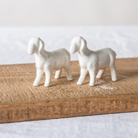 Goat Salt & Pepper Shakers
