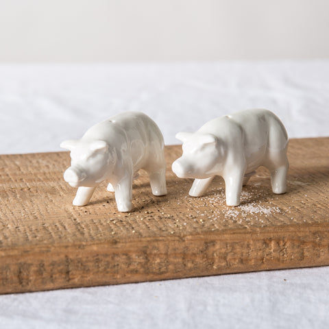 Pig Salt & Pepper Shakers