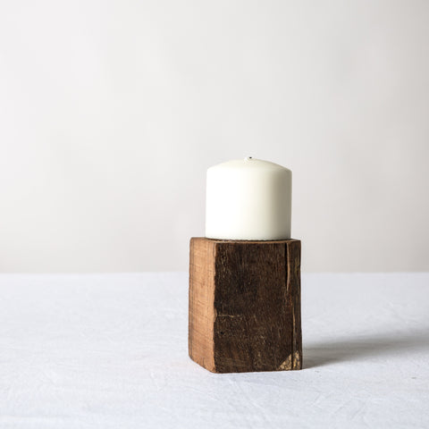 Short Block Candle Stand