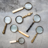 magnifying glass with decorative handle