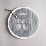 """Happiness is Homemade"" Potholder"