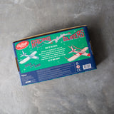 Set of 4 Racing Wooden Gliders