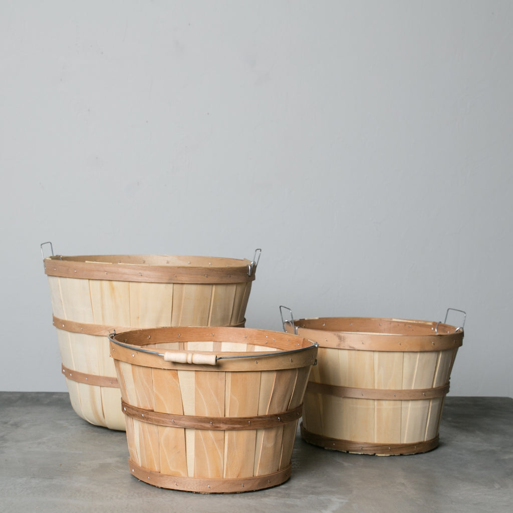 Organizational Bushel Baskets