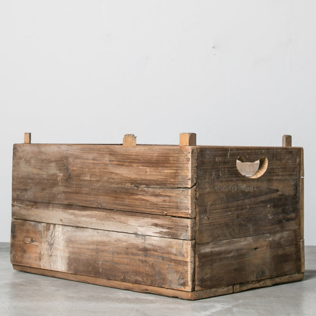 vintage style produce crate magnolia chip joanna gaines