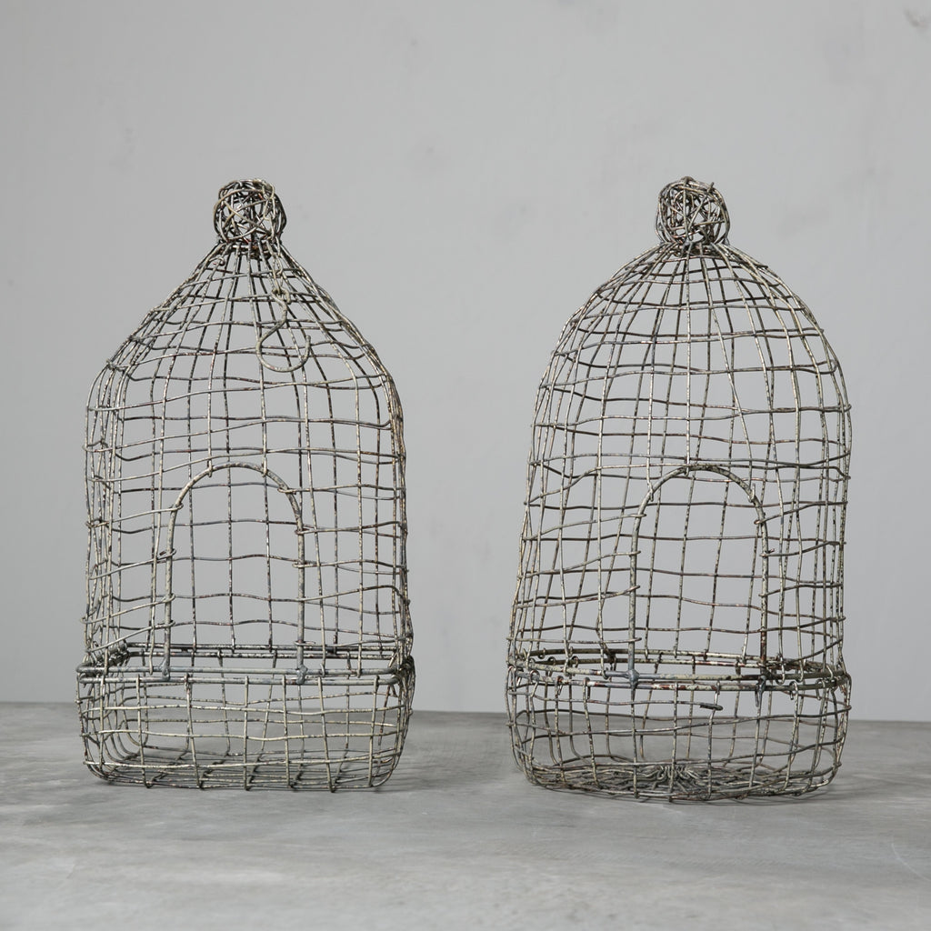 Wire Birdhouse
