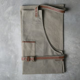 Adjustable Canvas and Leather Apron