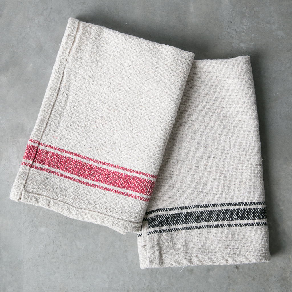 Striped Cotton Kitchen Towel Magnolia Market Chip