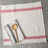 Striped Cotton Kitchen Towel