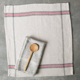 Magnolia Distressed Cotton Kitchen Towel