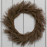 fall wheat wreath