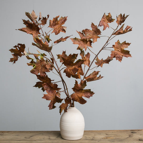Crafted Autumn Leaves Stem Magnolia