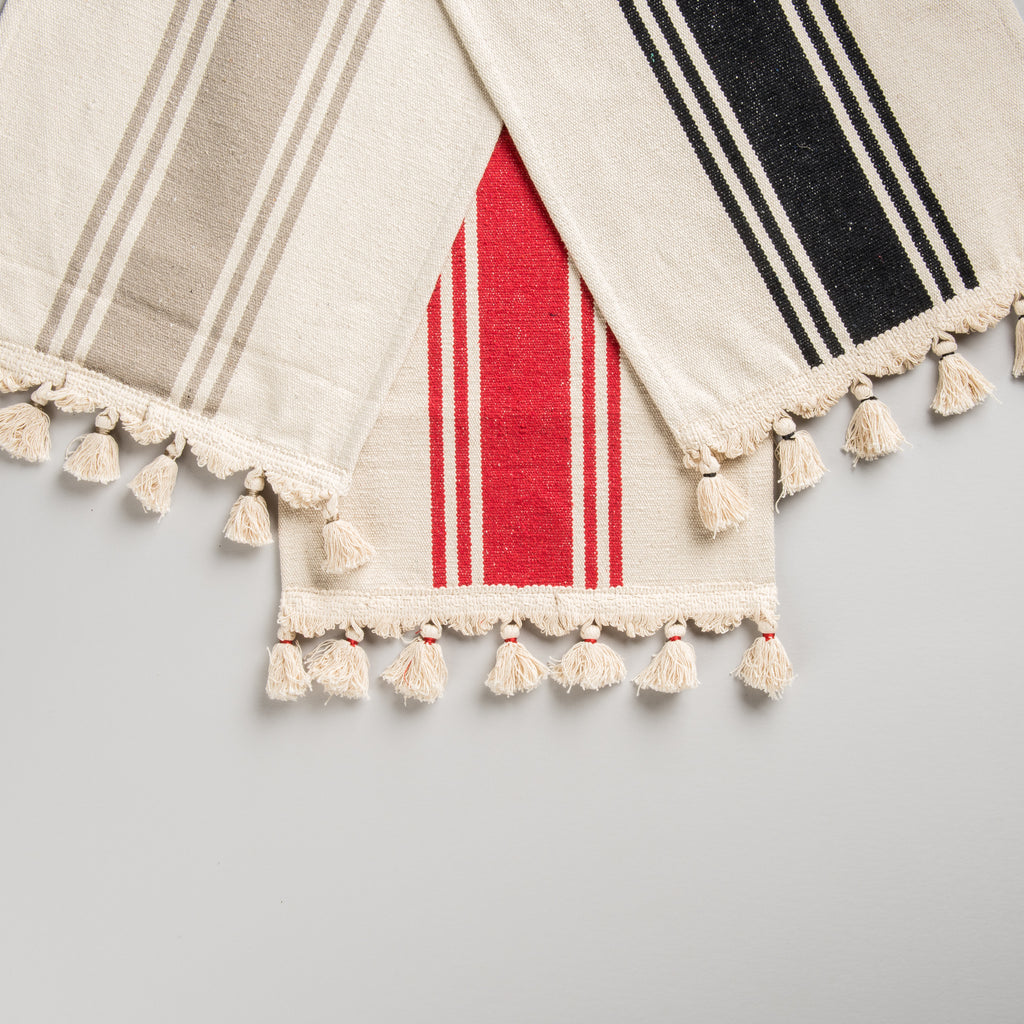Striped Placemat with Tassels