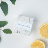 lavender citrus scented bar of soap