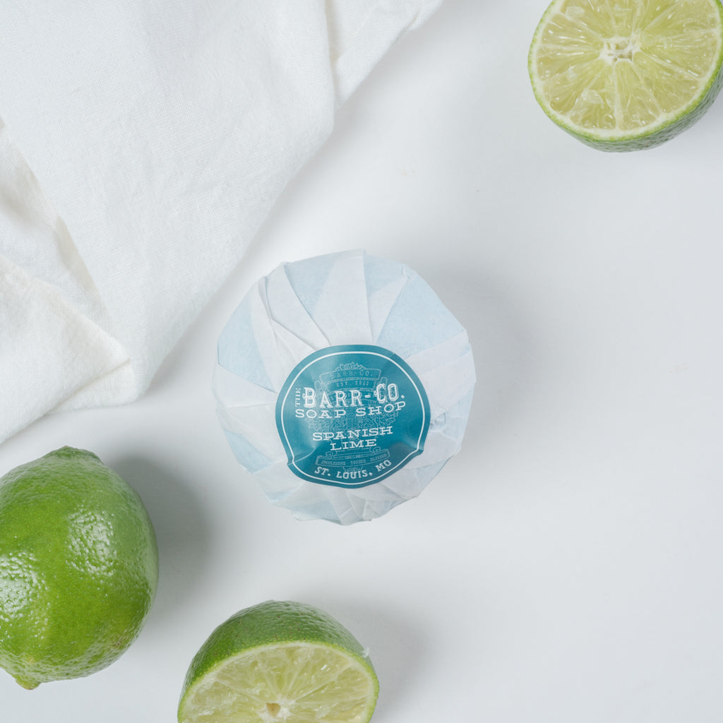 spanish lime bath salt ball