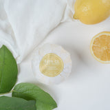 lemon verbana bath salt ball