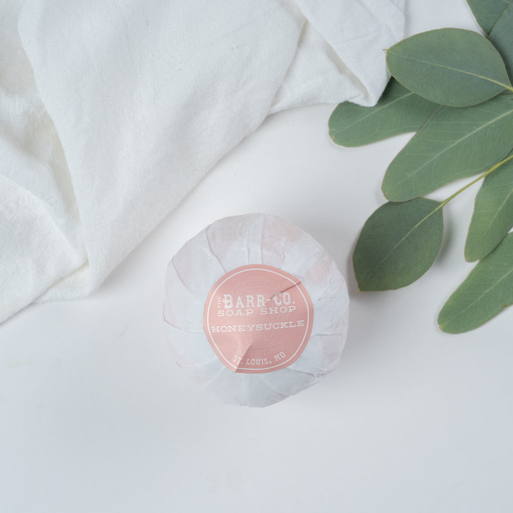 honeysuckle bath salt ball