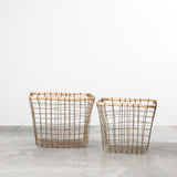 Bamboo & Wire Baskets