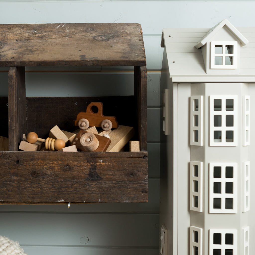 playhouse and wooden baby toys