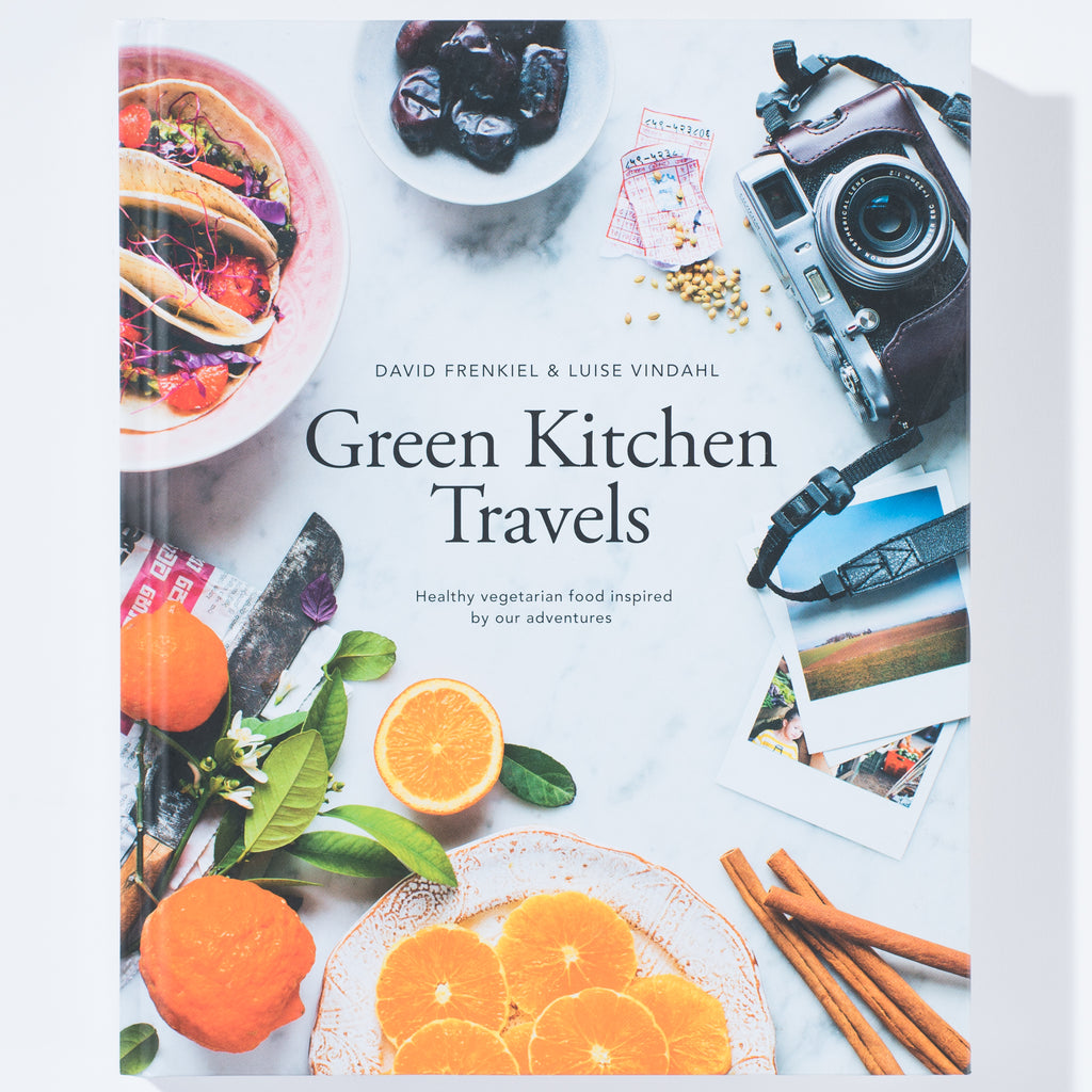 "cookbook titled ""green kitchen travels"""