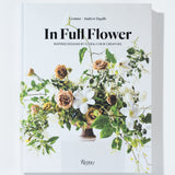 "modern flower arrangement book titled ""in full flower"""