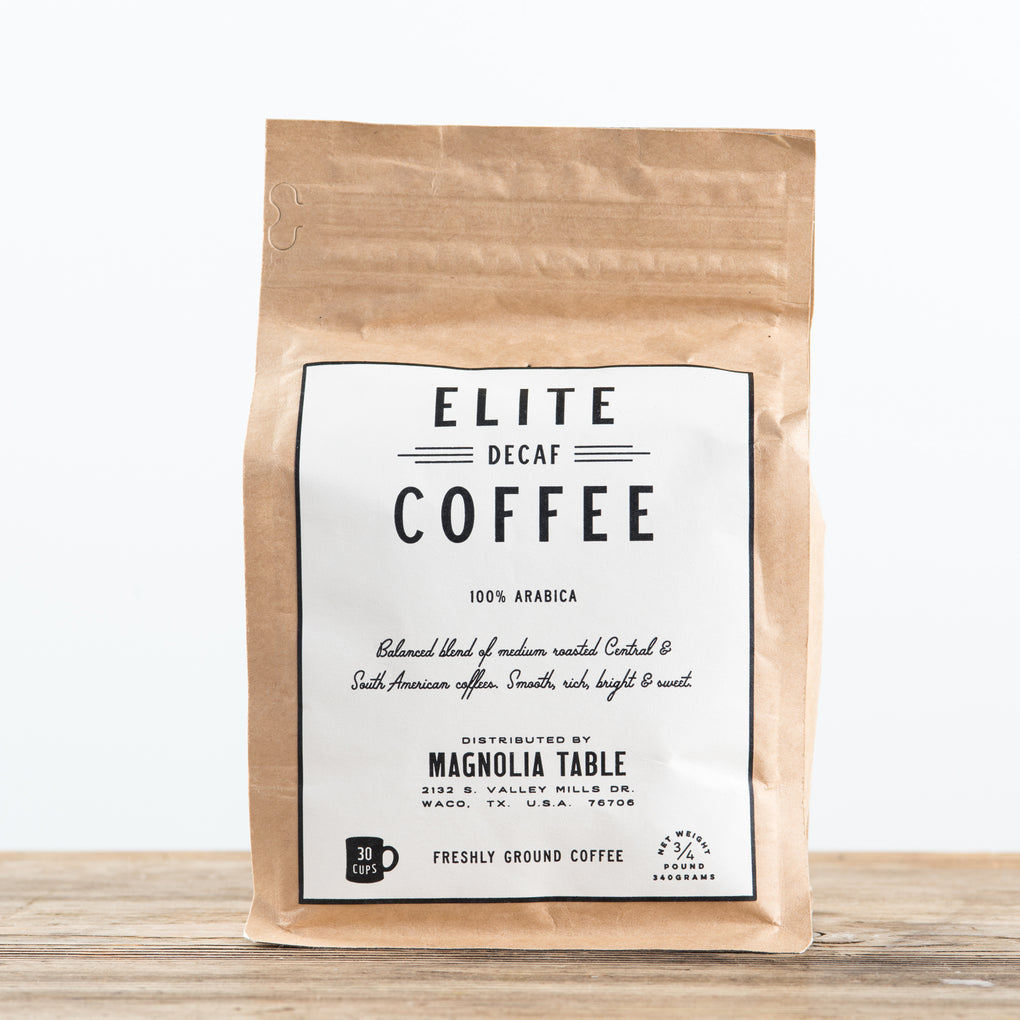 elite decaf coffee beans