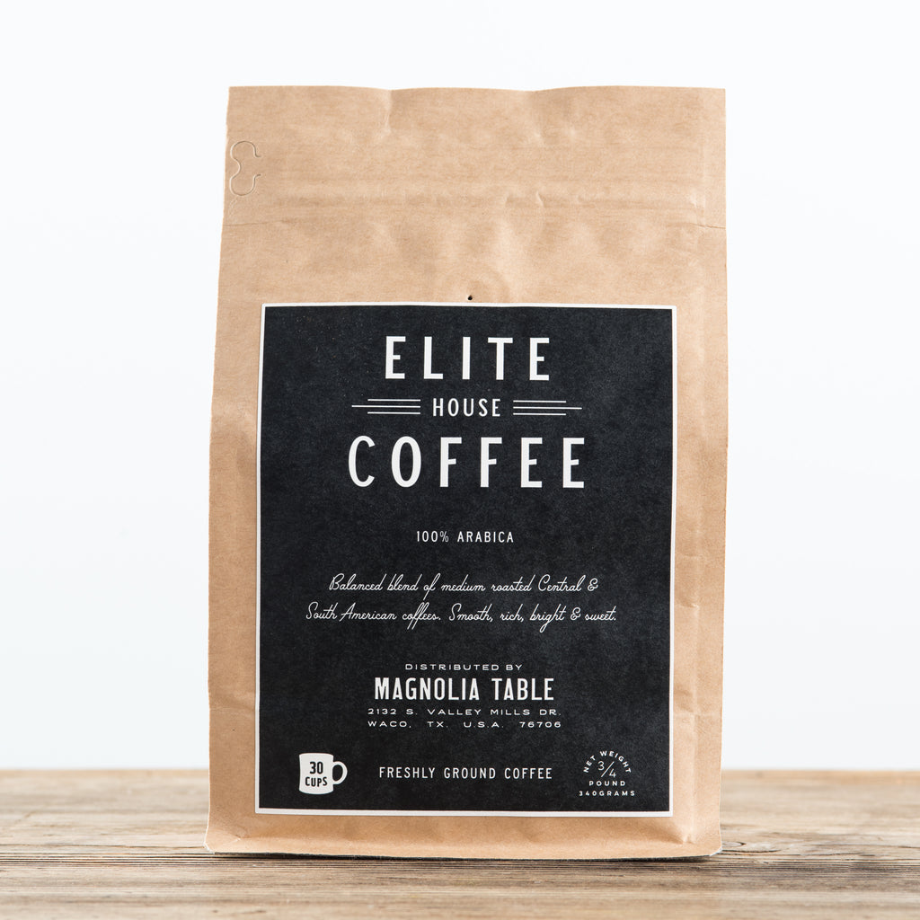 elite house coffee beans