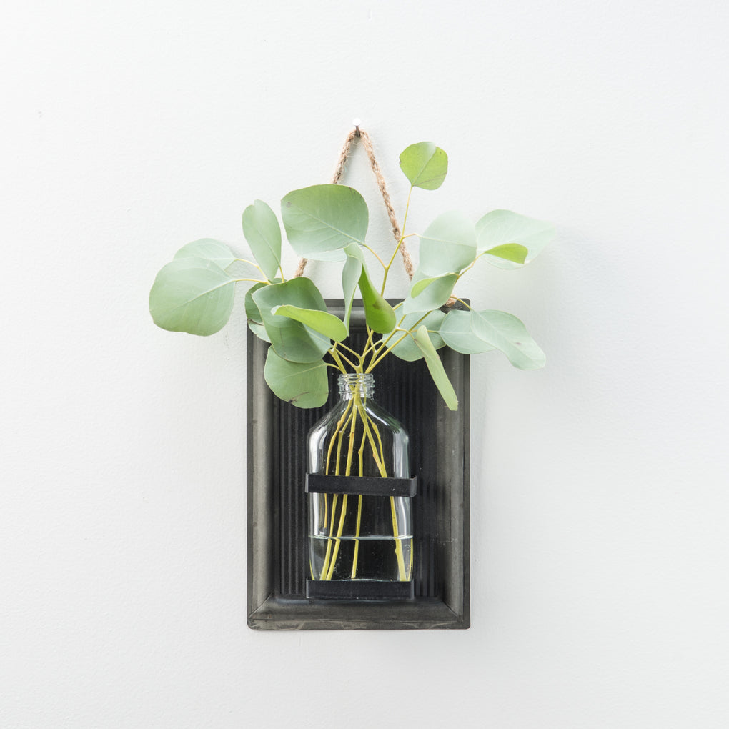 Blackboard Sheet Metal Vase