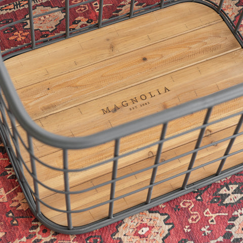 Baris Metal Grid Basket