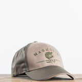 Tan and Brown Magnolia Hat