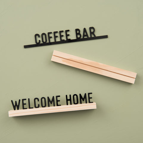 """Coffee Bar"" One Liner"