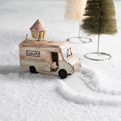 Cupcake Food Truck Ornament